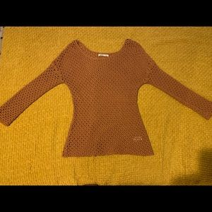 Old Navy Burnt Orange Sweater